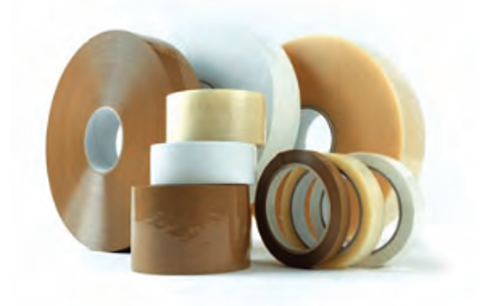 Picture of Brown poly adhesive tape 25 mm x 66 m